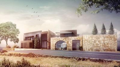 Villa à Faqra, Liban – Vue de la Rue