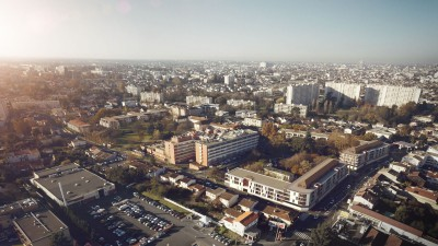 Bagatelle Hospital Housing – Aerial View